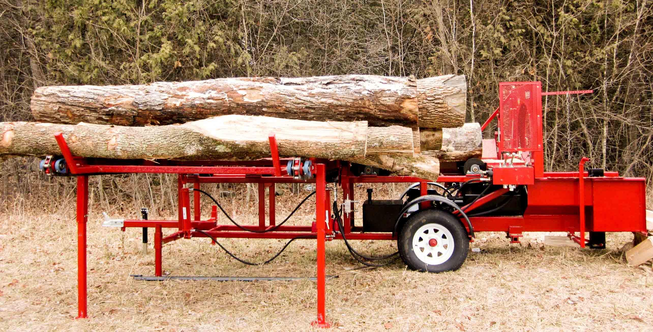 Firewood Processor Model 2500